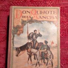 Libros de segunda mano: DON QUIJOTE DE LA MANCHA EDICIÓN PARA NIÑOS POR MIGUEL DE CERVANTES SAAVEDRA. Lote 262596410