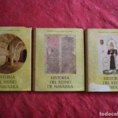 Libri di seconda mano: HISTORIA DEL REINO DE NAVARRA. JOSE MARÍA LACARRA. BIBLIOTECA CAJA DE AHORROS DE NAVARRA. Lote 262613635