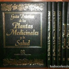 Libros de segunda mano: GUIA PRACTICA. PLANTAS MEDICINALES. SALUD. COCINA NATURAL. COMPLETA 6 TOMOS. VER FOTOGRAFIAS.. Lote 262652340