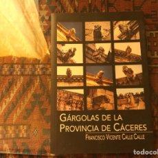 Libri di seconda mano: GÁRGOLAS DE LA PROVINCIA DE CÁCERES. FRANCISCO VICENTE CALLE. EDICIÓN AGOTADA. MUY DIFÍCIL. Lote 262657195