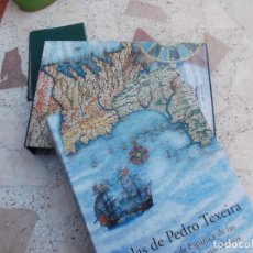 Libros de segunda mano: ATLAS DE PEDRO TEXEIRA, DESCRIPCION DE ESPAÑA Y DE LAS COSTAS Y PUERTOS DE SUS REINOS, SILOE, XVII. Lote 262686330