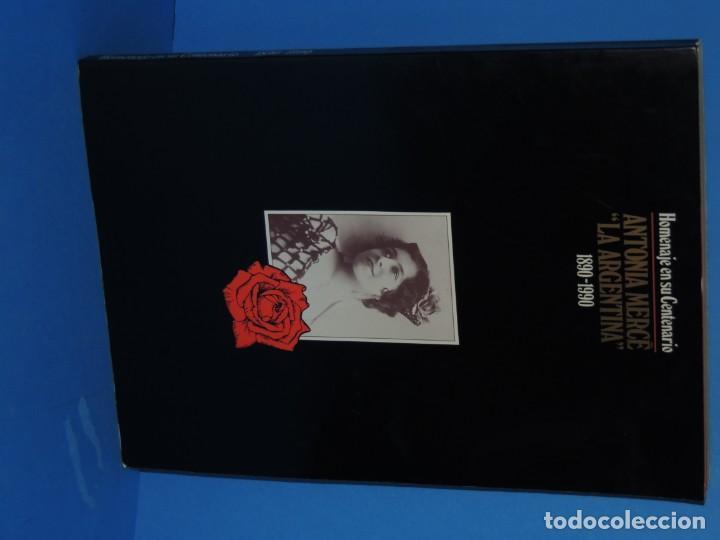Libros de segunda mano: HOMENAJE EN SU CENTENARIO . ANTONIA MERCÉ .LA ARGENTINA 1890-1990. - Foto 2 - 262708455