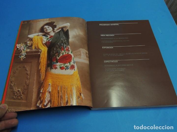 Libros de segunda mano: HOMENAJE EN SU CENTENARIO . ANTONIA MERCÉ .LA ARGENTINA 1890-1990. - Foto 3 - 262708455