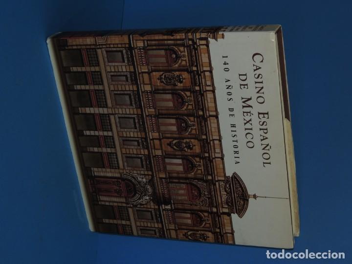 Libros de segunda mano: CASINO ESPAÑOL DE MÉXICO : 140 AÑOS DE HISTORIA.- ADRIANA GUTIÉRREZ HERNÁNDEZ - Foto 2 - 262710890