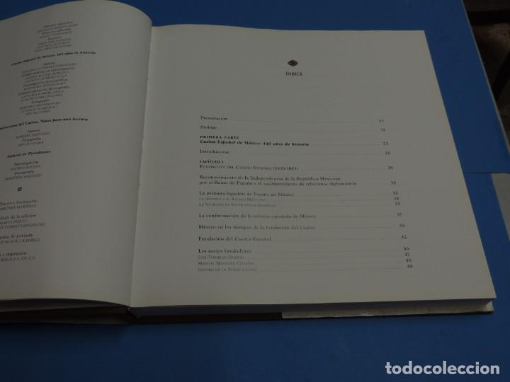 Libros de segunda mano: CASINO ESPAÑOL DE MÉXICO : 140 AÑOS DE HISTORIA.- ADRIANA GUTIÉRREZ HERNÁNDEZ - Foto 4 - 262710890