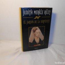 Libros de segunda mano: EL JARDÍN DE LA SERPIENTE , JUDITH MERKLE RILEY - PLANETA. Lote 262721295