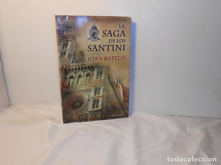LA SAGA DE LOS SANTINI , JOAN BATLLÓ - CORONA BOREALIS (Libros de Segunda Mano (posteriores a 1936) - Literatura - Otros)