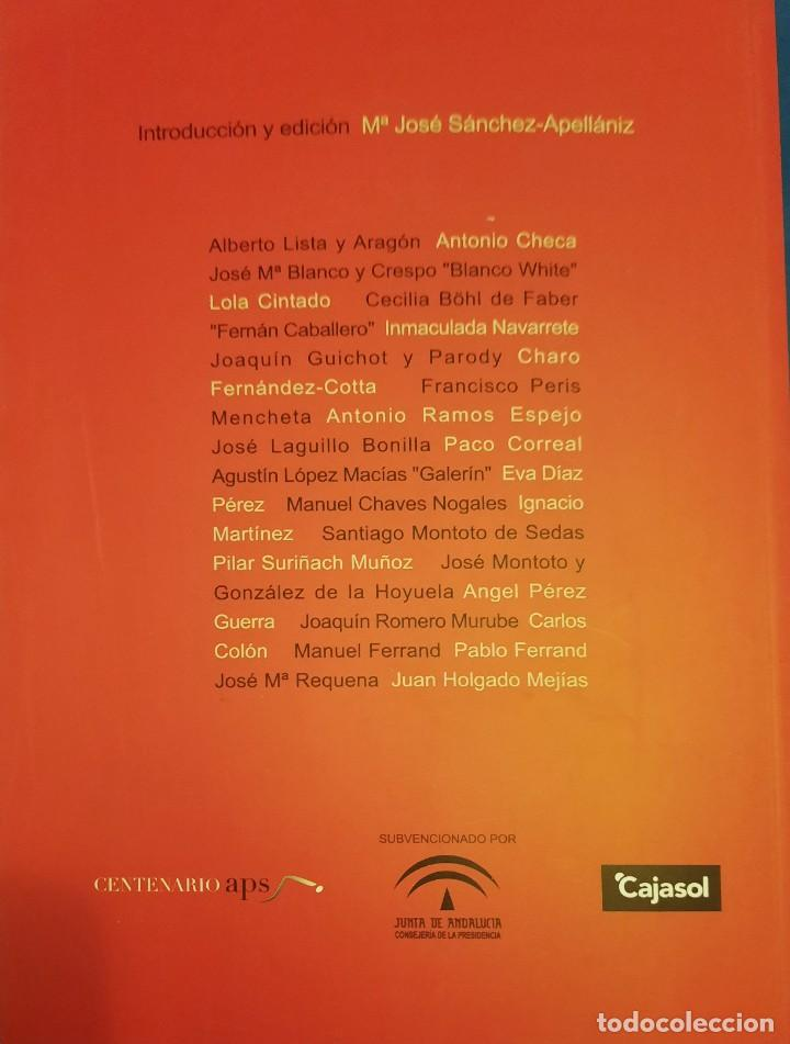 Libros de segunda mano: PERIODISTAS DE SEVILLA RETRATOS DE AUTORES DE DOS SIGLOS - Foto 2 - 262753530
