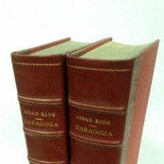 Libros de segunda mano: 1957 - ABBAD RÍOS - CATÁLOGO MONUMENTAL DE ESPAÑA: ZARAGOZA. 2 TOMOS (TEXTO Y LÁMINAS). Lote 262783165