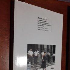Libros de segunda mano: ORDEN FÁLICO. JUAN VICENTE ALIAGA. LE FALTA UNA PÁGINA EN BLANCO. RESTO BUEN ESTADO. Lote 262820015