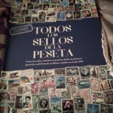 Libros de segunda mano: TODOS LOS SELLOS DE LA PESETA. INCAL EDICIONES. Lote 262821615