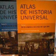 Libros de segunda mano: JOSÉ RAMÓN JULIA. ATLAS DE HISTORIA UNIVERSAL. (DE LOS ORÍGENES AL MUNDO ACTUAL).2 TOMOS. PLANETA. Lote 262823690