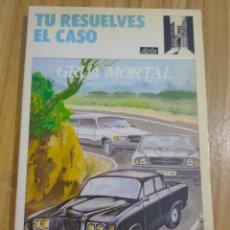 Libros de segunda mano: GRÚA MORTAL - TÚ RESUELVES EL CASO Nº 4 (ALLEN SHARP) LIBRO JUEGO ARÍN. Lote 262824750