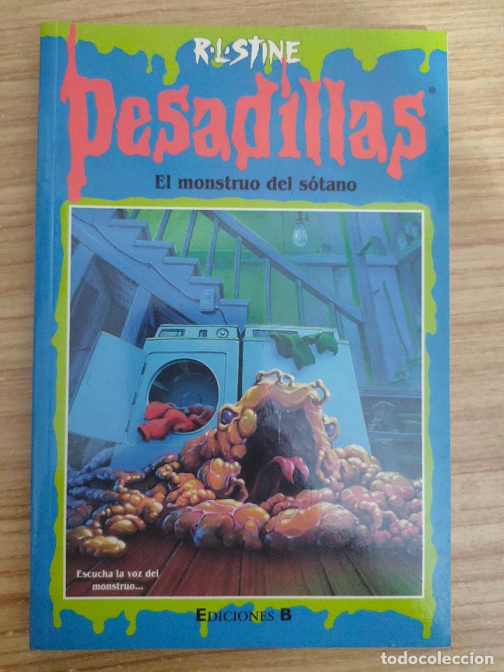EL MONSTRUO DEL SÓTANO - PESADILLAS Nº 59 (R. L. STINE) (Libros de Segunda Mano - Literatura Infantil y Juvenil - Otros)