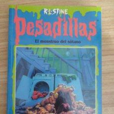 Libros de segunda mano: EL MONSTRUO DEL SÓTANO - PESADILLAS Nº 59 (R. L. STINE). Lote 262824810