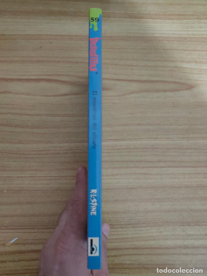 Libros de segunda mano: El monstruo del sótano - Pesadillas nº 59 (R. L. Stine) - Foto 3 - 262824810