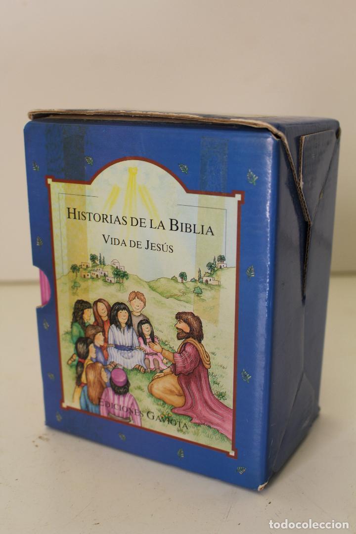 Libros de segunda mano: HISTORIAS DE LA BIBLIA.- VIDA DE JESUS. OCHO LIBROS ILUSTRADOS. EDICIONES GAVIOTA - Foto 2 - 262844845