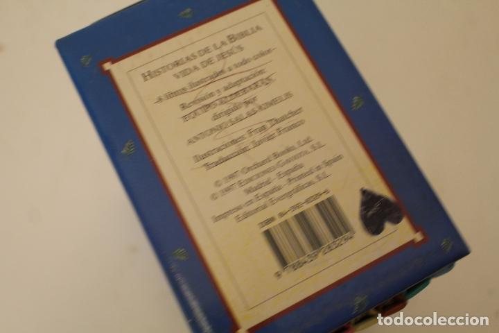 Libros de segunda mano: HISTORIAS DE LA BIBLIA.- VIDA DE JESUS. OCHO LIBROS ILUSTRADOS. EDICIONES GAVIOTA - Foto 4 - 262844845