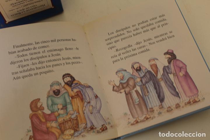 Libros de segunda mano: HISTORIAS DE LA BIBLIA.- VIDA DE JESUS. OCHO LIBROS ILUSTRADOS. EDICIONES GAVIOTA - Foto 5 - 262844845