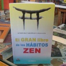 Libros de segunda mano: GRAN LIBRO DE LOS HABITOS ZEN,EL - BABAUTA, LEO. Lote 262859920