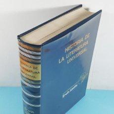 Libros de segunda mano: HISTORIA DE LA LITERATURA UNIVERSAL, ERWIN LAATHS, LABOR 1971 802 PAG, TAPA DURA SOBRECUBIERTA. Lote 262860055
