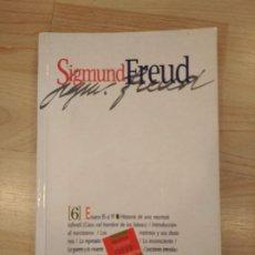 Libros de segunda mano: 'SIGMUND FREUD. TOMO 6. ENSAYOS 85 AL 97'. Lote 262862005