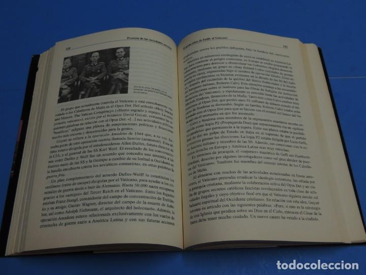 Libros de segunda mano: EL GRAN COMPLOT: CIEN AÑOS DE PODER EN LA SOMBRA .-ROBERT GOODMAN - Foto 6 - 262909465