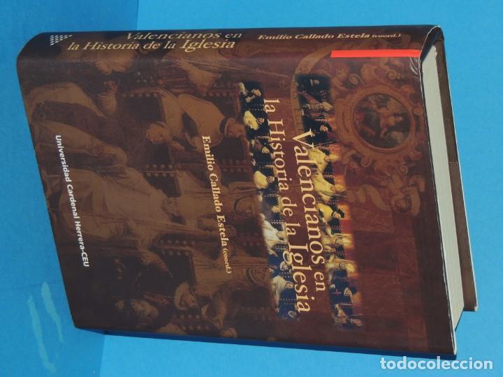 Libros de segunda mano: VALENCIANOS EN LA HISTORIA DE LA IGLESIA.- EMILIO CALLADO ESTELA.(coord.) - Foto 2 - 262913670