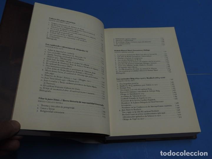 Libros de segunda mano: VALENCIANOS EN LA HISTORIA DE LA IGLESIA.- EMILIO CALLADO ESTELA.(coord.) - Foto 5 - 262913670