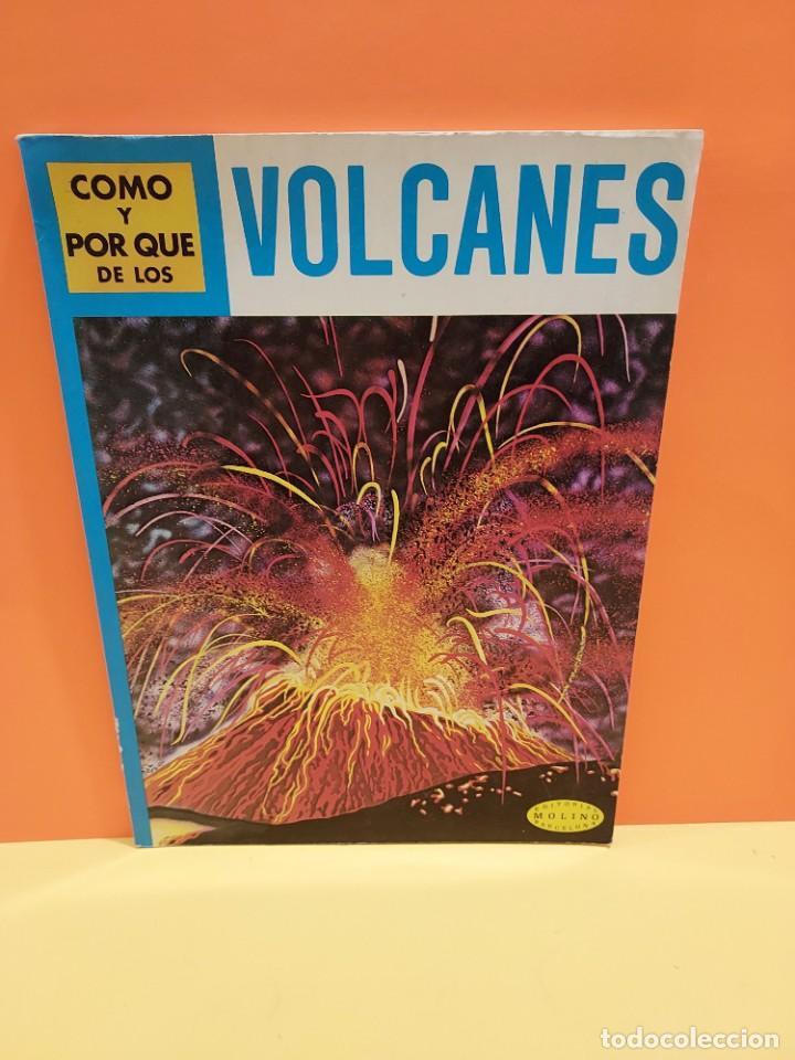 COMO Y POR QUÉ DE LOS VOLCANES...1981.... (Libros de Segunda Mano - Literatura Infantil y Juvenil - Otros)