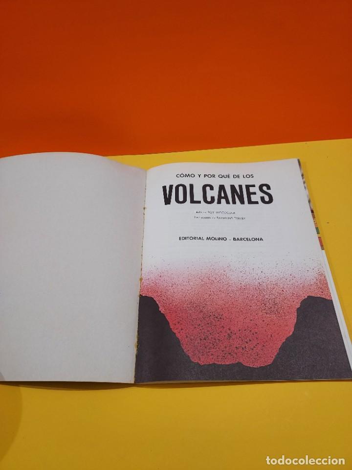 Libros de segunda mano: COMO Y POR QUÉ DE LOS VOLCANES...1981.... - Foto 3 - 262916100