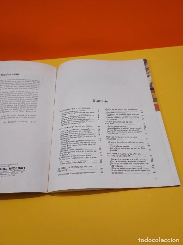 Libros de segunda mano: COMO Y POR QUÉ DE LOS VOLCANES...1981.... - Foto 4 - 262916100