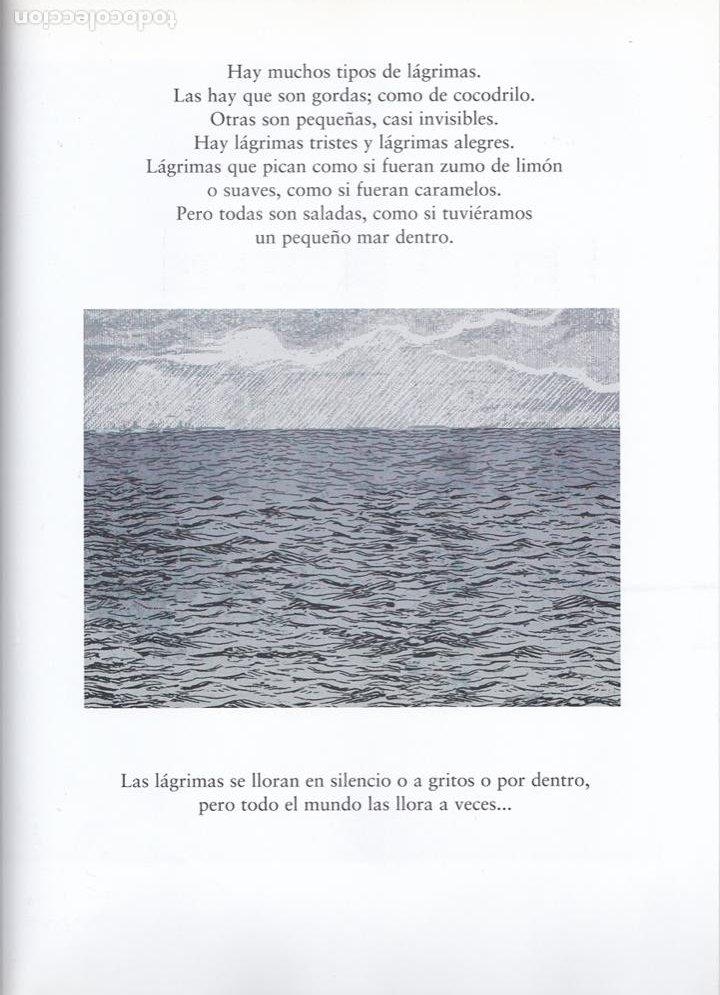 Libros de segunda mano: Libro de lágrimas / Pere Ginard * ÁLBUM * - Foto 3 - 262916885