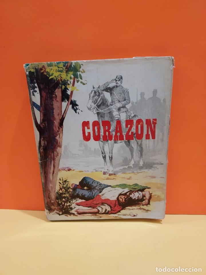 CORAZON.......EDMUNDO DE AMICIS......1968..... (Libros de Segunda Mano - Literatura Infantil y Juvenil - Otros)
