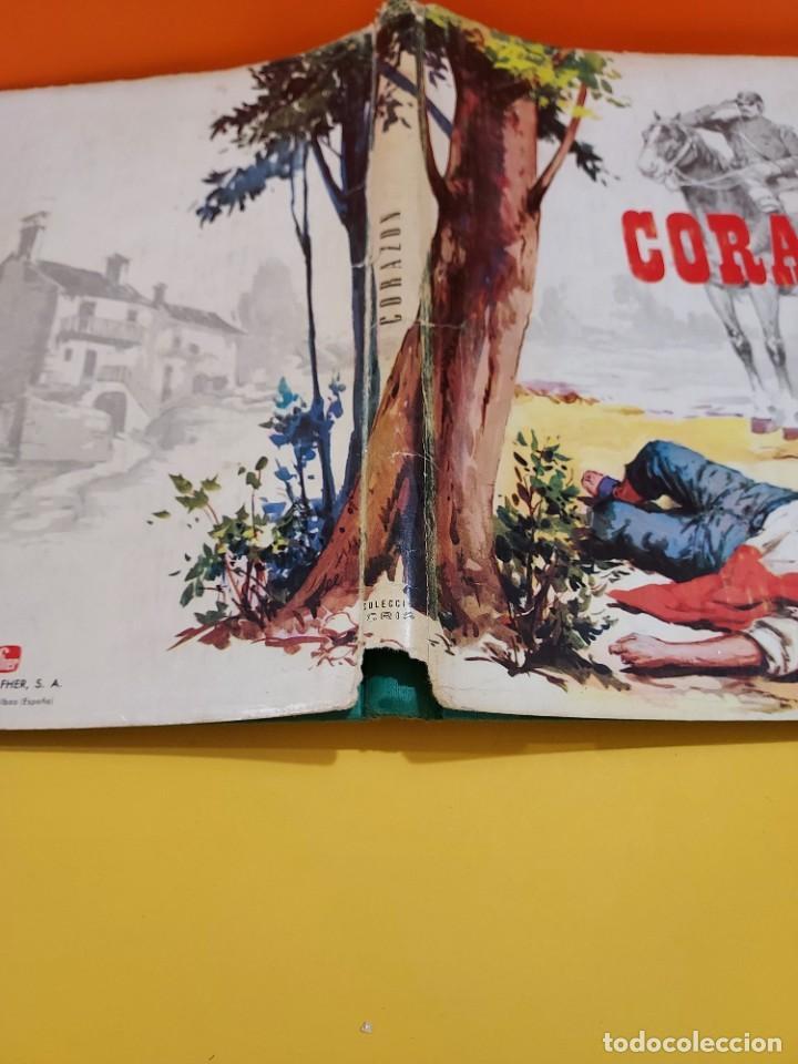 Libros de segunda mano: CORAZON.......EDMUNDO DE AMICIS......1968..... - Foto 4 - 262917405