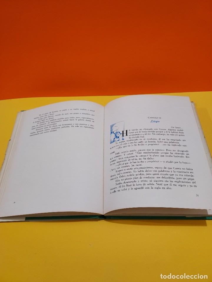 Libros de segunda mano: CORAZON.......EDMUNDO DE AMICIS......1968..... - Foto 10 - 262917405
