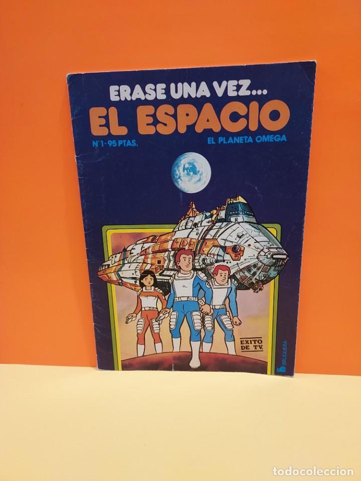 ERASE UNA VEZ...EL ESPACIO.....CUADERNO NUMERO 1....EL PLANETA OMEGA.... (Libros de Segunda Mano - Literatura Infantil y Juvenil - Otros)