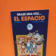 Libros de segunda mano: ERASE UNA VEZ...EL ESPACIO.....CUADERNO NUMERO 1....EL PLANETA OMEGA..... Lote 262925470