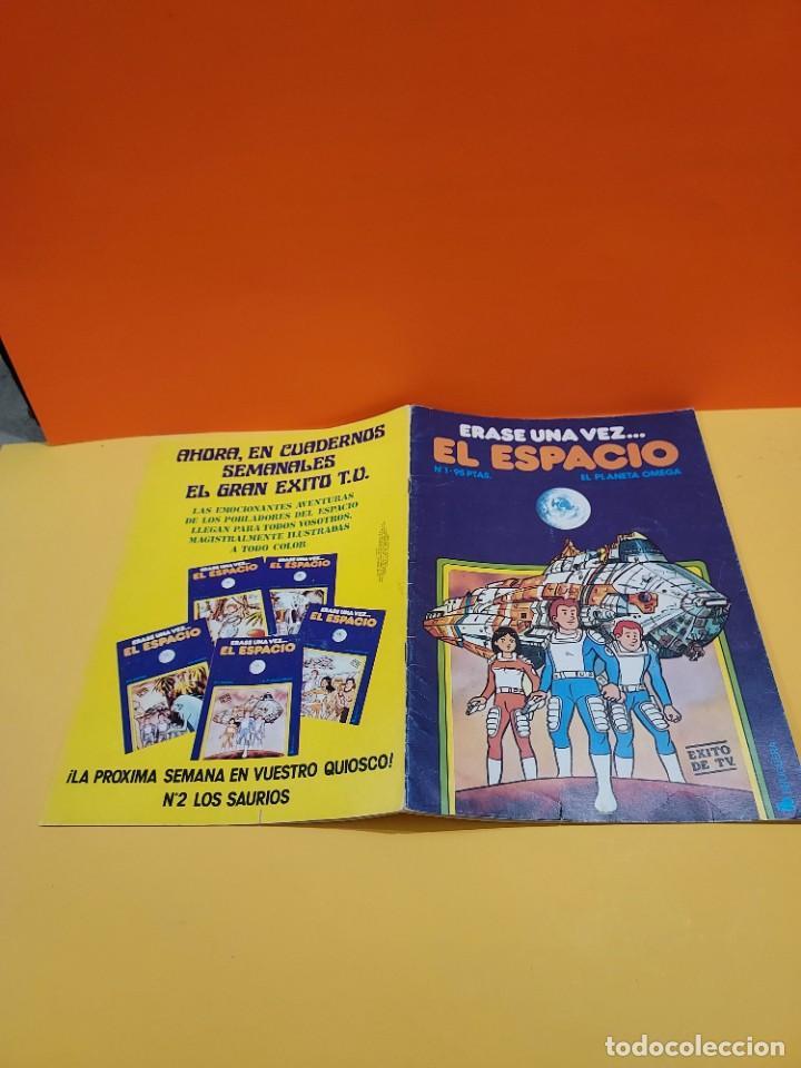Libros de segunda mano: ERASE UNA VEZ...EL ESPACIO.....CUADERNO NUMERO 1....EL PLANETA OMEGA.... - Foto 2 - 262925470