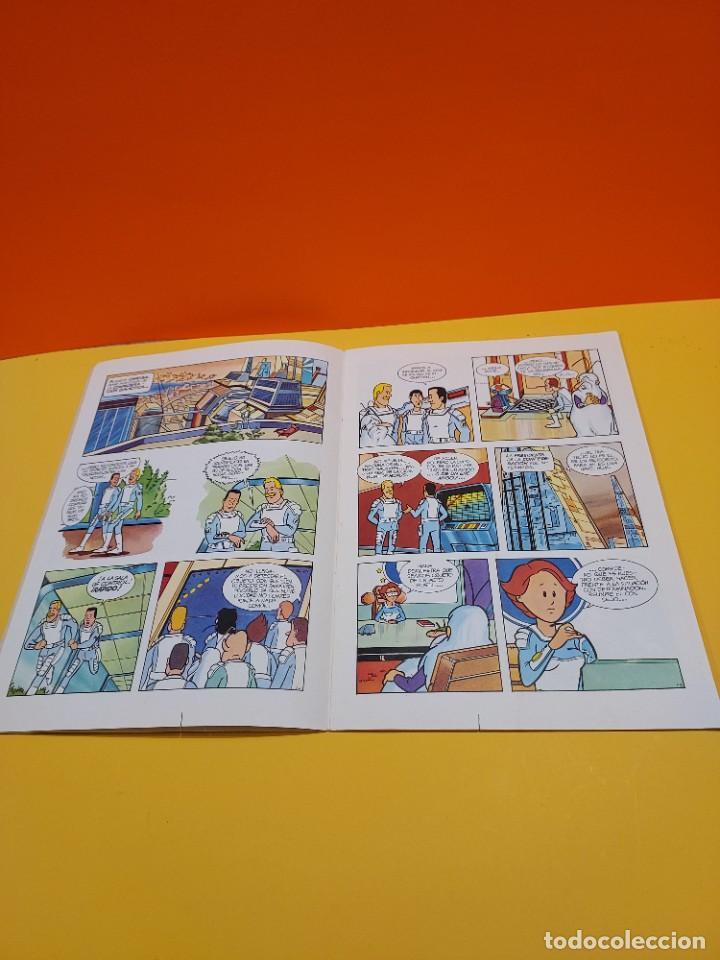 Libros de segunda mano: ERASE UNA VEZ...EL ESPACIO.....CUADERNO NUMERO 1....EL PLANETA OMEGA.... - Foto 4 - 262925470