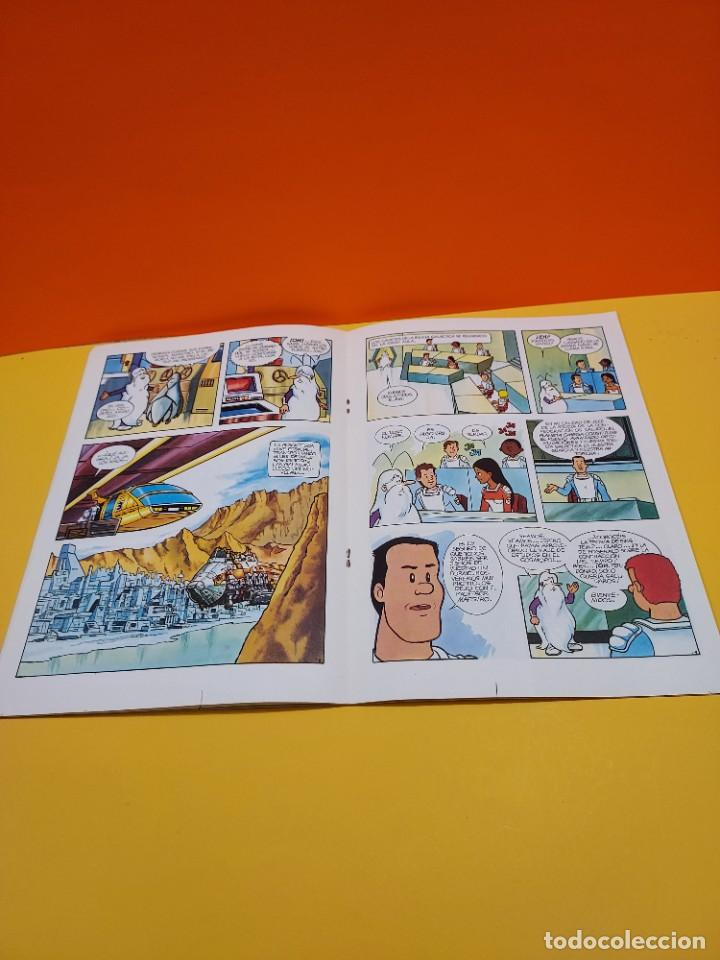 Libros de segunda mano: ERASE UNA VEZ...EL ESPACIO.....CUADERNO NUMERO 1....EL PLANETA OMEGA.... - Foto 5 - 262925470