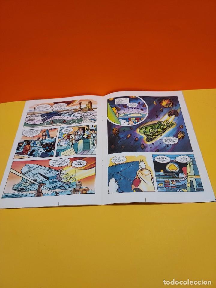 Libros de segunda mano: ERASE UNA VEZ...EL ESPACIO.....CUADERNO NUMERO 1....EL PLANETA OMEGA.... - Foto 6 - 262925470