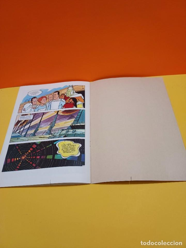 Libros de segunda mano: ERASE UNA VEZ...EL ESPACIO.....CUADERNO NUMERO 1....EL PLANETA OMEGA.... - Foto 7 - 262925470