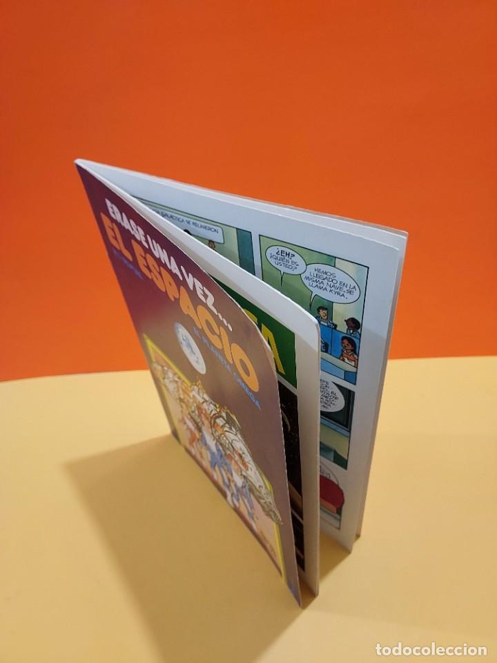 Libros de segunda mano: ERASE UNA VEZ...EL ESPACIO.....CUADERNO NUMERO 1....EL PLANETA OMEGA.... - Foto 8 - 262925470