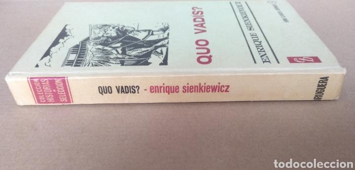 Libros de segunda mano: Quo vadis? Enrique Sienkiewicz. Colección historias selección. Serie Clasicos juveniles 4. Libro - Foto 9 - 262937350
