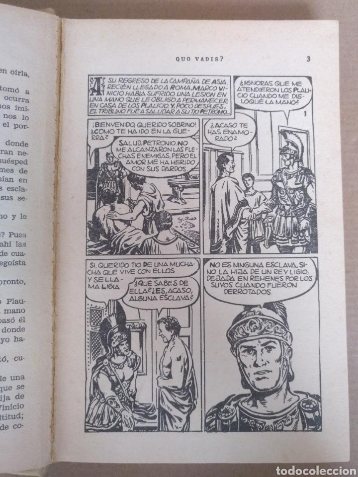 Libros de segunda mano: Quo vadis? Enrique Sienkiewicz. Colección historias selección. Serie Clasicos juveniles 4. Libro - Foto 6 - 262937350