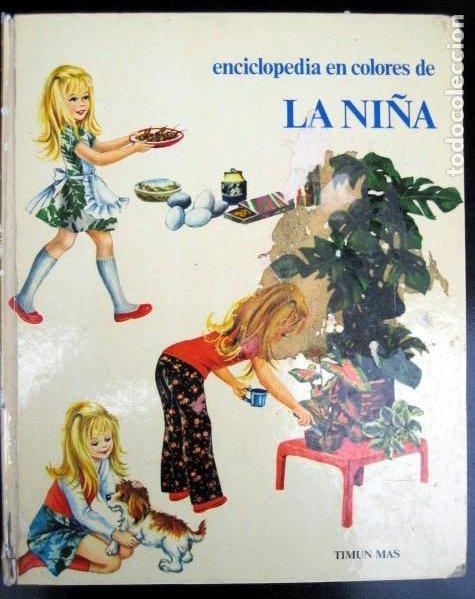 ENCICLOPEDIA EN COLORES DE LA NIÑA. MIRELLA VITALE (Libros de Segunda Mano - Literatura Infantil y Juvenil - Otros)