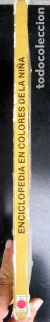 Libros de segunda mano: Enciclopedia en colores de la niña. Mirella Vitale - Foto 2 - 262942125