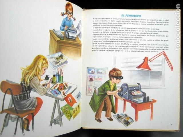 Libros de segunda mano: Enciclopedia en colores de la niña. Mirella Vitale - Foto 4 - 262942125
