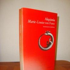 Libros de segunda mano: ALQUIMIA - MARIE-LOUISE VON FRANZ - LUCIÉRNAGA - MUY BUEN ESTADO. Lote 262952305